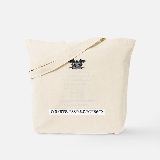 counter assault back Tote Bag