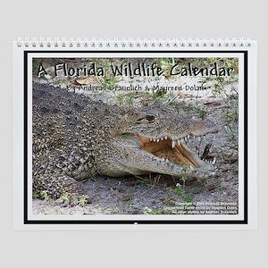 """""""A Florida Wildlife Calendar"""" Wall Calendar"""