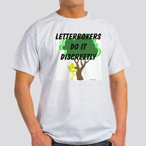 Letterboxing Discreetly Light T-Shirt