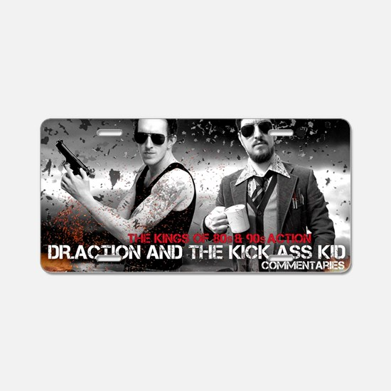 Doc and Kid Expendable Aluminum License Plate