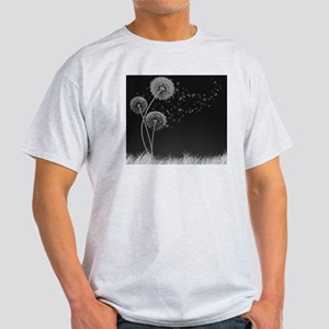 Dandelion Wishes Light T-Shirt