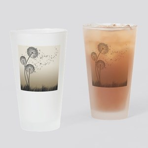 Dandelion Wishes Drinking Glass