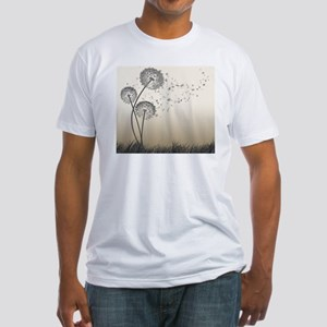 Dandelion Wishes Fitted T-Shirt