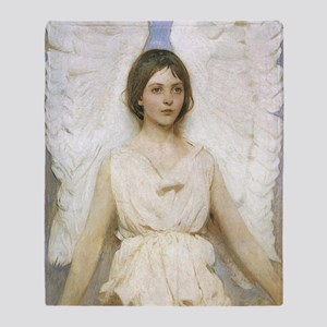 Angel by Thayer Throw Blanket