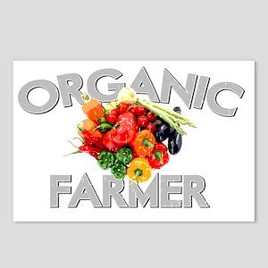 ORGANIC FARMER DARK Postcards (Package of 8)