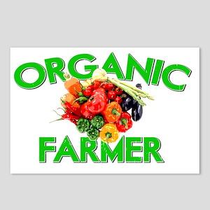 ORGANIC FARMER GREEN Postcards (Package of 8)