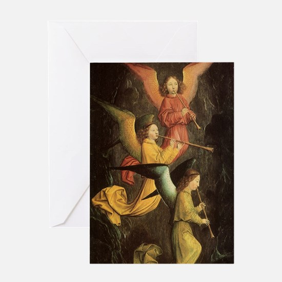 Choir of Angels by Marmion Greeting Card