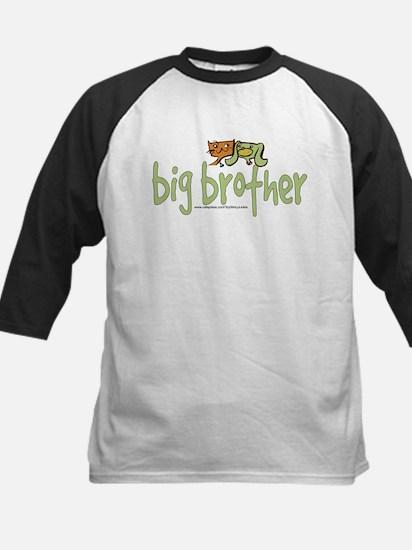 big brother (cat & dog) Kids Baseball Jersey