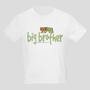big brother (cat & dog) Kids Light T-Shirt
