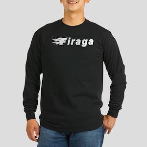 Simple Firaga Long Sleeve Dark T-Shirt