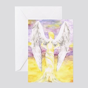 Heavens Wings Greeting Card