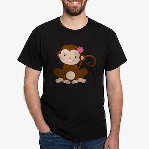 Baby Monkey Dark T-Shirt