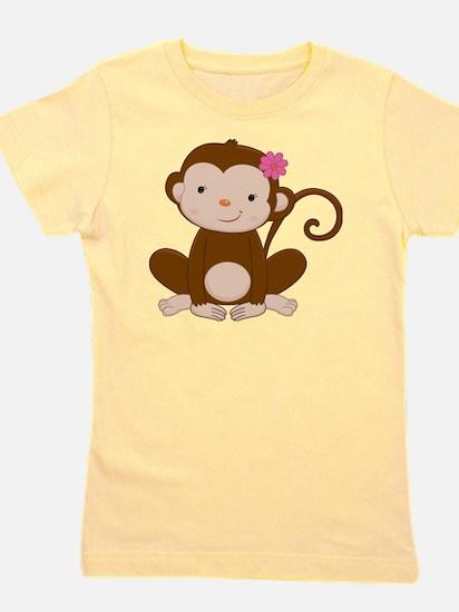 Baby Monkey Girl's Tee