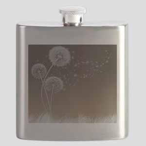 Dandelion Wishes Flask