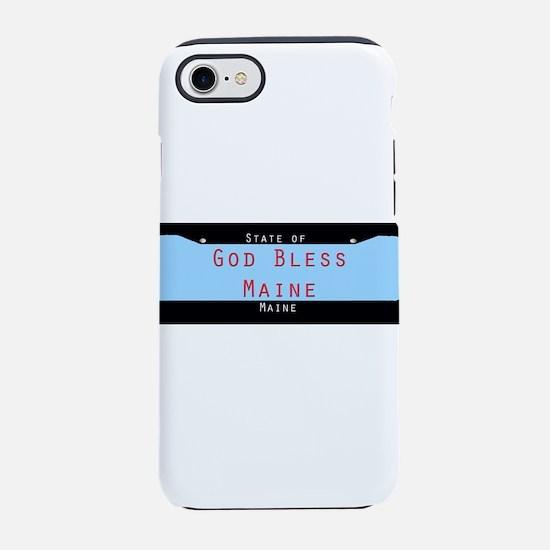 Maine God Bless iPhone 7 Tough Case