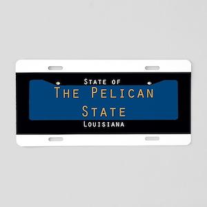 Louisiana Nickname #1 Aluminum License Plate