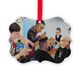 Barber Picture Frame Ornaments
