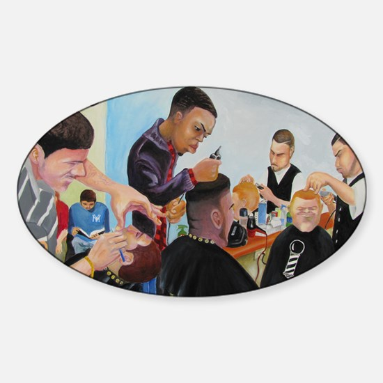 get kutz Sticker (Oval)