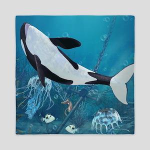 Orca II Queen Duvet