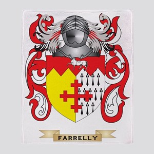 Farrelly Coat of Arms Throw Blanket