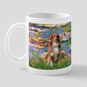 Lilies2-Aussie Shep (#4) Mug