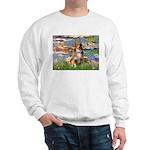 Lilies2-Aussie Shep (#4) Sweatshirt
