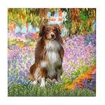 Garden-Aussie (#4) Tile Coaster