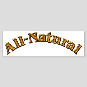 All-Natural Sticker (Bumper)