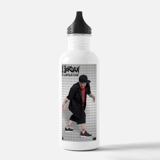 large poster aj jordan Water Bottle