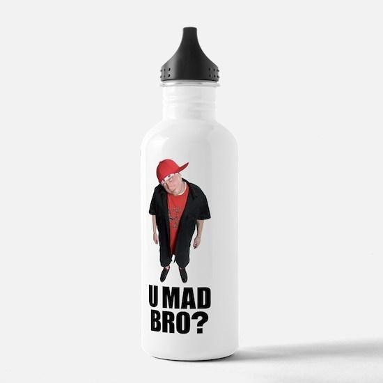 U MAD BRO AJ JORDAN Water Bottle