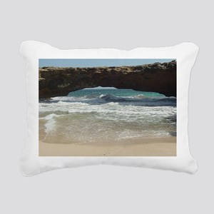 Natural Bridge Rectangular Canvas Pillow