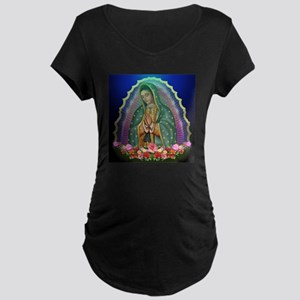 Guadalupe Glow Maternity Dark T-Shirt