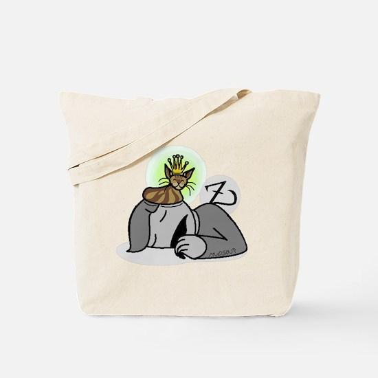 le kitten queen Tote Bag