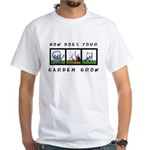 White GARDEN GROW T-Shirt
