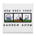 GARDEN GROW Tile Coaster