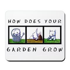 GARDEN GROW Mousepad