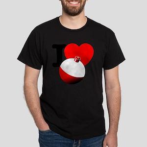 I Heart Bobber Dark T-Shirt