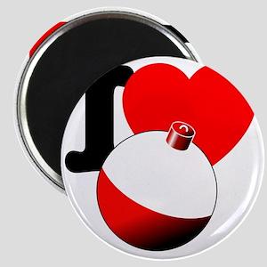 I Heart Bobber Magnet