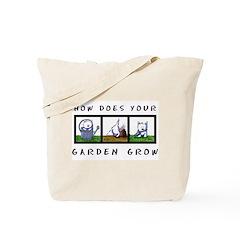 WESTIE GARDEN GROW/DIG IT Tote Bag
