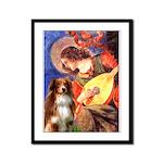 Angel3 - Aussie Shep #4 Framed Panel Print