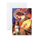 Angel3 - Aussie Shep #4 Greeting Cards (Pk of 10)