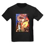 Angel3 - Aussie Shep #4 Kids Dark T-Shirt
