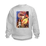 Angel3 - Aussie Shep #4 Kids Sweatshirt