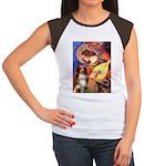 Angel3 - Aussie Shep #4 Women's Cap Sleeve T-Shirt