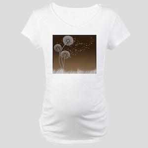 Dandelion Wishes Maternity T-Shirt
