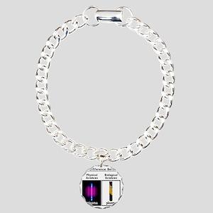 Difference Plasma Charm Bracelet, One Charm