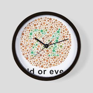 Odd Wall Clocks - CafePress