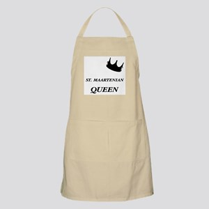 St. Maartenian Queen BBQ Apron