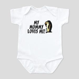 My Mommy Loves Me (Penguins) Infant Bodysuit