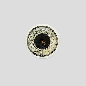 Clock in the Duomo by Uccello Mini Button
